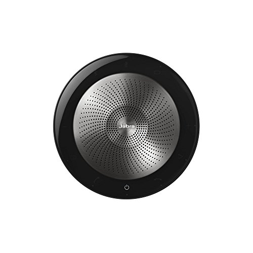 Jabra Speak 710 MS Wireless Bluetooth Speaker For Softphones And Mobile Phones - Easy Setup, Portable Speaker For Holding Meetings Anywhere With Immersive Sound, MS Optimized