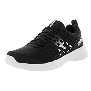 Reebok Women's Speed Rise Black/White Royal/Silver 7 B US