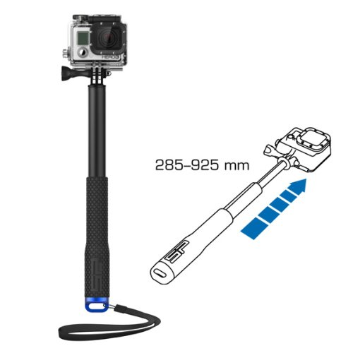 SP Gadgets POV Pole for GoPro (36 inch, Black) (Best Socal Beaches For Swimming)