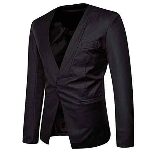 Traje Slim Los Ocultos Dunkelgrau Smart Chaqueta Chaquetas Fit Coat Cómodo Hombres Battercake Elegante De Esmoquin Blazer Boda pzq4w5t