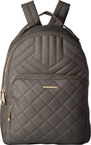 Rampage Womens Multi Quilt Dome Backpack Slate One - Backpack Dome