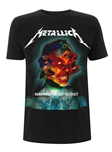 Metallica Hardwired to Self Destruct Album Official Tee T-Shirt Mens Unisex (Large)