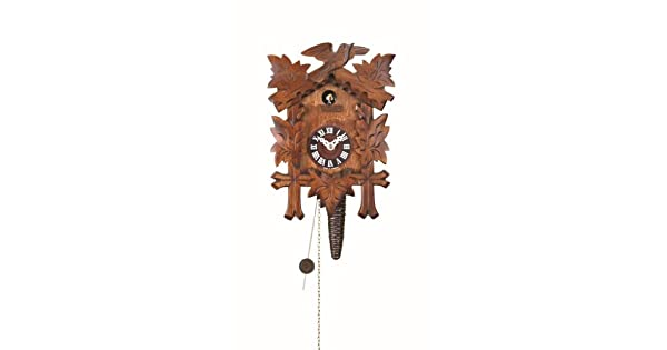 Amazon.com: Trimestre Call Reloj de cuco con 1-Day ...