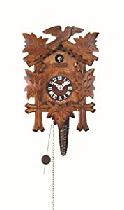 Reloj cucú 5 folllajes, pajarito TU 619 nu