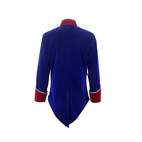 Darkrock New Men's Velvet Vladimir Tuxedo Jacket Tailcoat Goth Steampunk Victorian 5