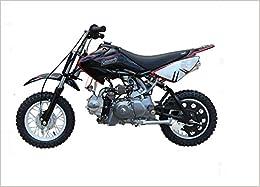 Brand New Luxury Coleman 70cc Gas Powered Dirt Bike Black