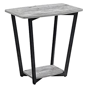 Convenience concepts graystone end table faux birch kitchen dining - Birch kitchen table ...
