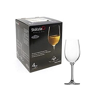 Stolzle 15-Ounce Classic White Wine Glass, Set of 4