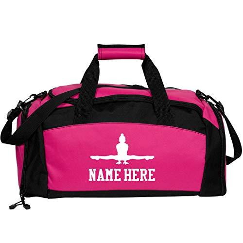 Custom Name Gymnastics Bag: Gym Duffel Bag