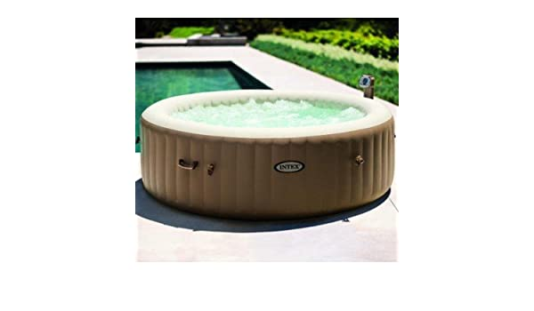 INTEX Pure-SPA Hinchable SPA de Bolas de 6 plazas 2,16 x71 ...