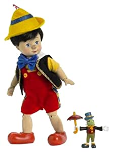 Amazoncom Madame Alexander Dolls Pinocchio Wooden Sculpt and