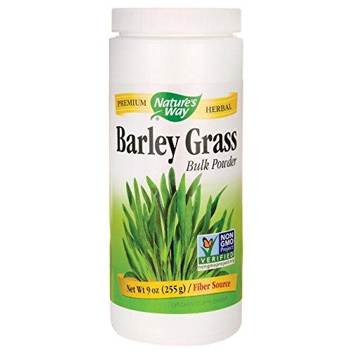 - Nature's Way - Barley Grass Bulk Powder, 9 oz powder