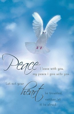 Brand New Peace I Leave with You Dove Poster - Mini Laminated Christian Poster - Religious & Inspirational Posters