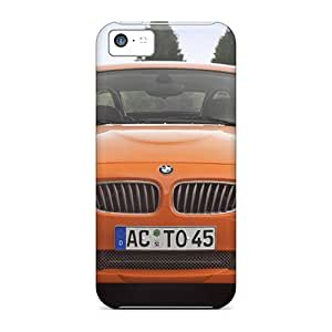 Durable Protector Cases Covers With Orange Bmw Ac Schnitzer V8 Topster Front Hot Design For Iphone 5c BY icecream design