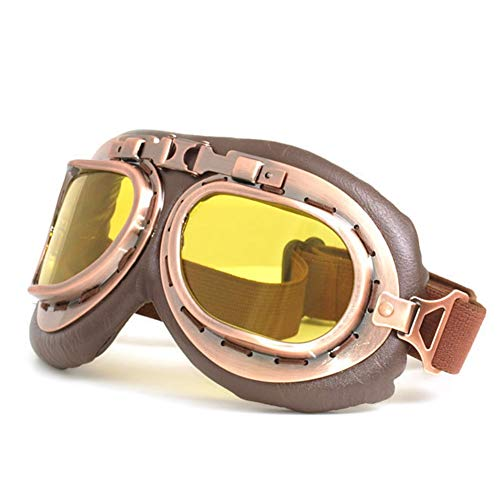 LAIABOR Motorcycle Glasses Riding Goggles Motorcycle Helmet mask Outdoor Locomotive Off-Road Windproof Glasses,A