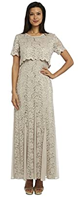 R&M Richards Mother of The Bride Petite Long Formal Dress