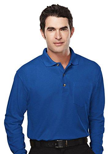 Tri Mountain Mens Golf Cut Big And Tall Polo Shirt