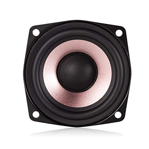 Nobsound 1 x 2,5 inch hifi-desktop full range luidspreker hoge gevoeligheid luidspreker (4 ohm).