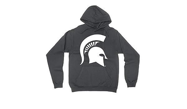 18XMCS10 Mens//Womens Boyfriend Long Sleeve Tee Official NCAA Michigan State University Spartans