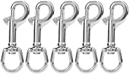 Double End Bolt Snaps,Snap Hook L82MM 316 Stainless Steel Spring Snap Hooks Clips Durable Diving Double Ended