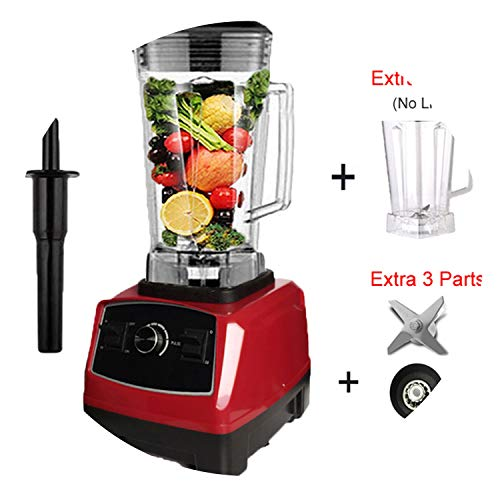 Quality G5200 Bpa Free 3Hp 2200W Heavy Duty Commercial Blender Juicer Ice Smoothie Professional Processor Mixer,Redfulljar,Us Plug