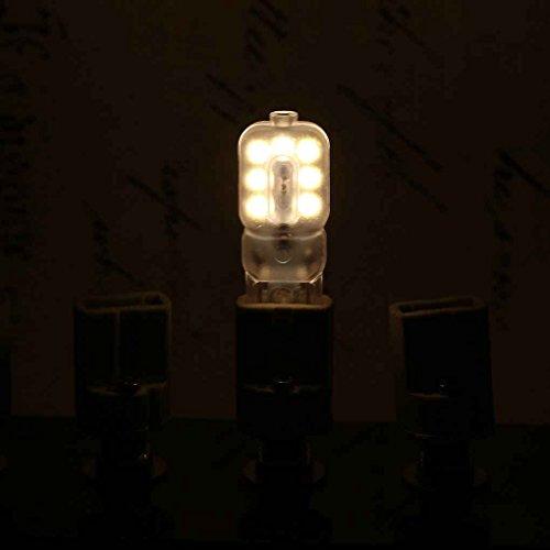 220v Ma Led Lampes G9 Laiteux Super Bright Lampe 2835 Meisijia Halog xdCoBWre