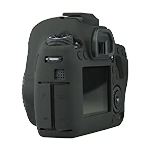 FNSHIP Professional Soft Silicone Rubber Camera Protective Cover Case Skin For Canon EOS 6D Digital SLR Camera by FNSHIP
