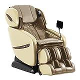 Osaki OS-Pro Alpina Zero Gravity Massage Chair, L+S Track Design, Heart Rate Sensor, Foot Rollers, and Touch Screen Remote (Beige)