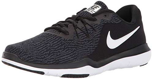 Nike Women's Flex Supreme TR 6 Cross Training Shoes (8 M US, Black/White/Anthracite)