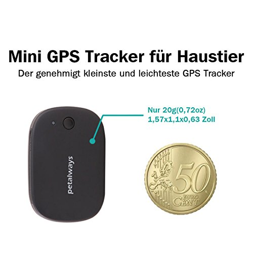 petalways gps wifi haustier tracker ger t echtzeit. Black Bedroom Furniture Sets. Home Design Ideas