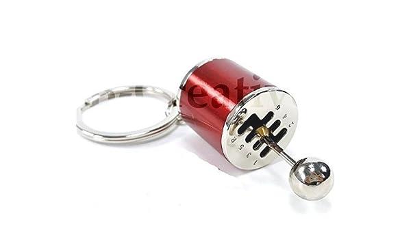 B-Creative - Llavero con diseño de palanca de cambios, de ...