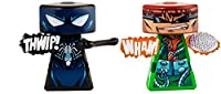 VS Rip-Spin Warriors Black Suit Spider-Man VS Doctor Octopus