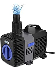 Forever Speed Super Eco Teichpumpe Filterpumpe Energiespar Wasserpumpe Koiteich Bachlaufpumpe (3000-10000L/H)