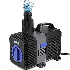Speed, Super Eco – Pompa per laghetti con filtro dell'acqua, a risparmio energetico, per vasche idriche, torrenti, ideale per laghetti per carpe koi (3000 – 10000 litri/h)