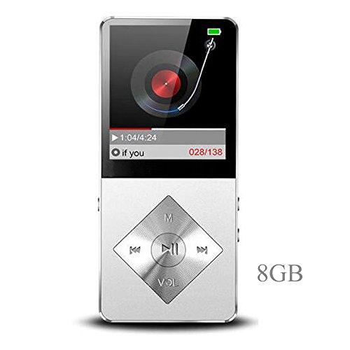 Mp3 player, Music Player, Hotechs 8GB MP3 Player Hi-Fi Sound