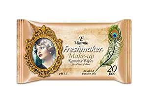 FRESHMAKER MAKE UP REMOVER WET WIPES 20 pcs per pack, 96 PACKS.