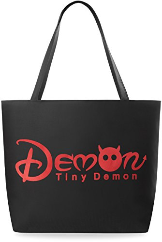 Borsa Alla Moda Borsa Eko Con Borsa Shopperbag Stampa - Demone