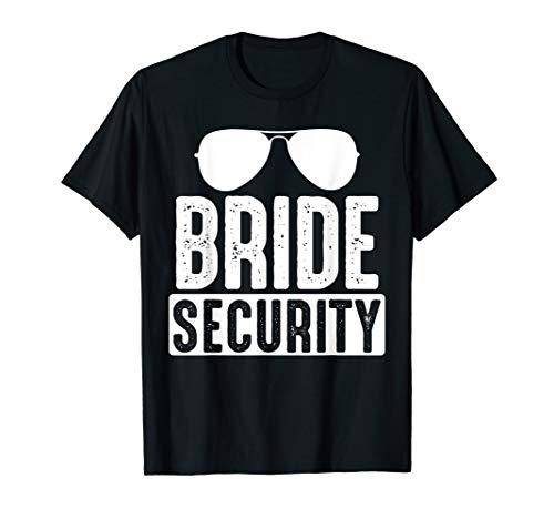 Funny Wedding Shirt Bride Security T Shirt