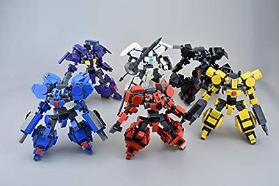 LetMay MOC Building Blocks Cosmos Wars Series of Armed Team