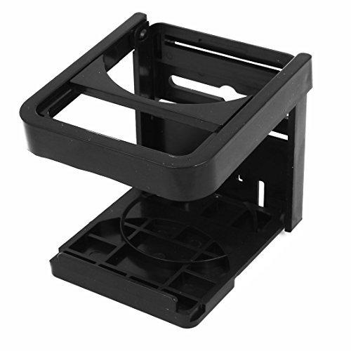 Amazon.com: Veículos Car plástico preto Folding copo suporte para garrafa: Electronics