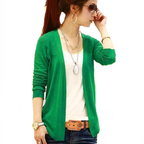 Beautiful Knitting Weaveing Women Lady Cardigan Sweater Long ...