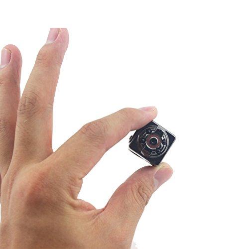 Tangmi mini tragbare Kamera FULL HD 1080P versteckte Kamera mini nachhaltige Videokamera mini Überwachungskamera mit eingebaute Batterie auch für Autoüberwachung
