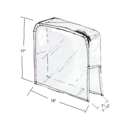 Chair-back Cover Round With No Opening