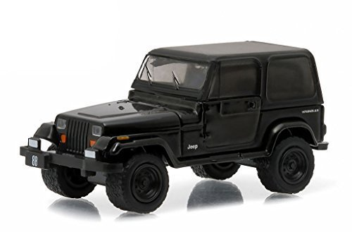 (Greenlight 1: 64 Black Bandit Series 14 - 1994 Jeep Wrangler Diecast Vehicle)