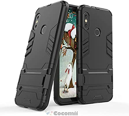 Cocomii Iron Man Armor Xiaomi Mi A2 Lite/Redmi 6 Pro Funda Nuevo ...