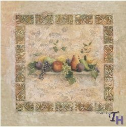 Palette Tuscan - Pimpernel Tuscan Palette Coasters - Set of 6 by Pimpernel