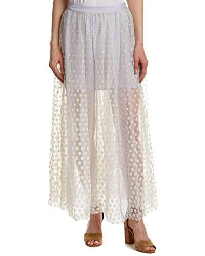 Free People Women's Dreaming Of You Maxi Tutu Skirt (2, White) by Free People