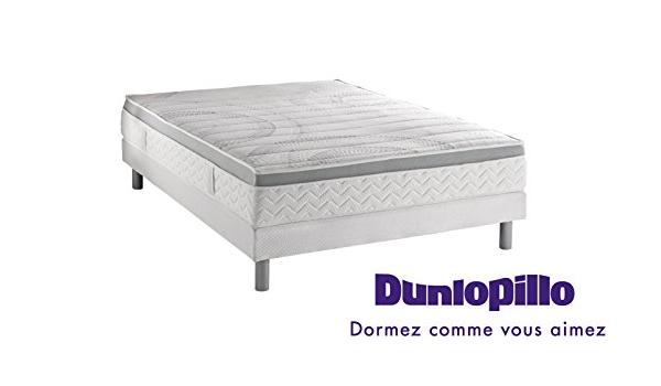 Dunlopillo Conjunto colchón Mirage + somier Dunlosom + Patas ...