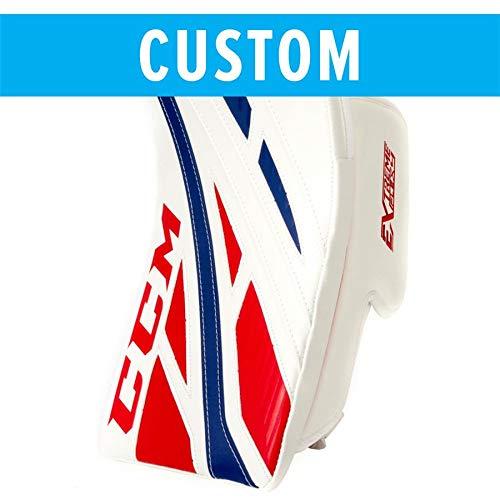 CCM Custom Extreme Flex 4 Goalie Blocker [Intermediate] by CCM Custom (Image #1)