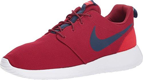 NIKE Men's Roshe One Red Crush/Midnight Navy Running Shoe 12 Men US